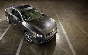 Wallpaper Concrete, Grey, Nissan