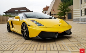 Picture Lamborghini, Gallardo, Custom, CV7, Black1007