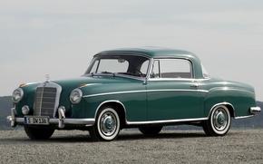 Picture retro, coupe, mercedes