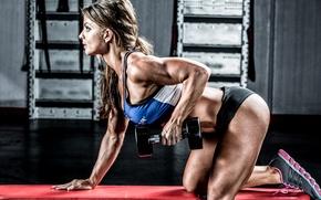Wallpaper fitness, workout, Jen Jewell