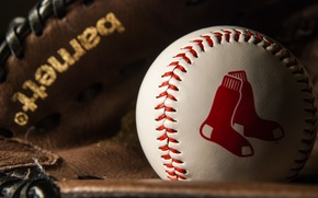 Picture sport, the ball, Baseball, Red Socks