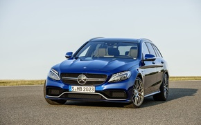 Picture Mercedes Benz, AMG, C63, Estate, 2015
