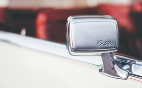 Wallpaper machine, mirror, car, cadillac