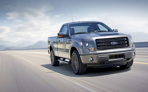 Picture machine, Ford, pickup, the front, F-150, powerful, Tremor