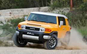 Picture Japan, Australia, Jeep, Japan, Toyota, Car, Yellow, Auto, Wallpapers, Yellow, SUV, Australia, Toyota, Cruiser, Cruiser, …