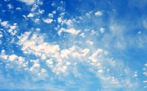 Wallpaper beautiful, clouds, sunset
