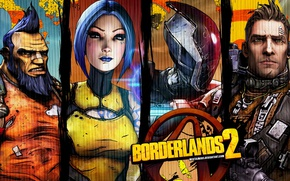 Picture Art, Game, Borderland 2, characters.