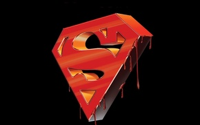 Wallpaper superman, logo