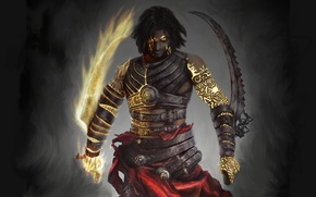 Picture look, weapons, patterns, the game, art, Prince of Persia: Warrior Within, Prince of Persia