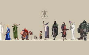 Picture The Lord of the rings, heroes, The Lord of the Rings