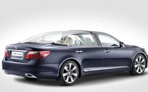 Picture Lexus, sedan, LS600HL, landaulet