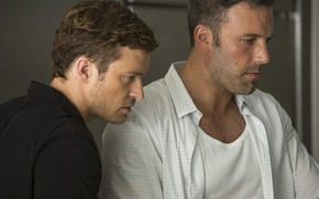 Picture Ben Affleck, Justin Timberlake, Justin Timberlake, Ben Affleck, Runner Runner, Va-Bank