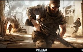 Picture battlefield, dust, army, aftermath, hd gun
