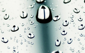 Picture drops, macro, style