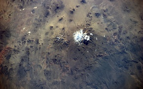 Picture Chile, volcano, Earth from space