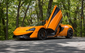 Wallpaper McLaren, 570S, supercar, McLaren