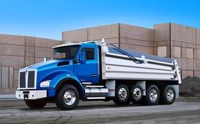Picture truck, Kenworth, dump truck, Kenworth, T880
