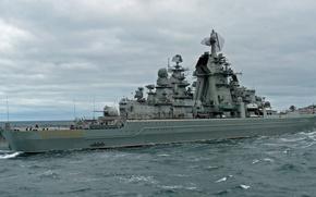 Wallpaper Peter, Russia, cruiser, Great