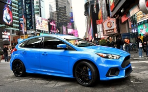 Picture the city, people, tuning, new, Ford Focus