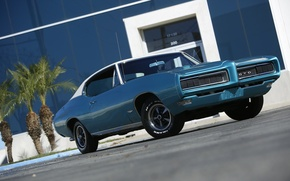 Picture muscle, Pontiac, GTO, 1968