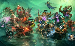 Picture WoW, World of Warcraft, battle, heroes