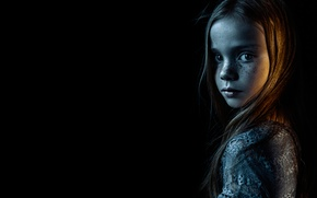 Picture background, lighting, girl, Sophie Wright