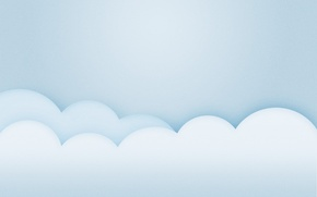 Picture the sky, clouds, style, minimalism, minimalism, style, 1920x1200, clouds, skt