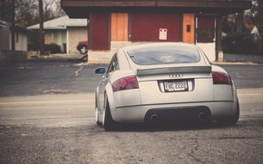 Picture Audi, Audi, tuning, back, silver, silver, tuning