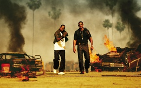 Picture Will Smith, Will Smith, Bad Boys II, Martin Lawrence, Martin Lawrence, Detective Marcus Burnett, Bad …