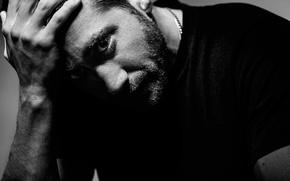 Picture photoshoot, Jake Gyllenhaal, Jake Gyllenhaal, Nightcrawler, for the film, Stringer