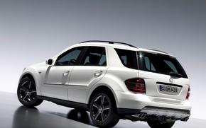 Picture white, Mercedes - Benz, ML350