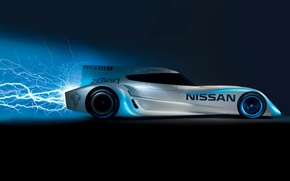 Picture Lightning, Sport, Speed, Energy, Nissan_ZEOD_RC