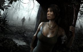 Wallpaper girl, the game, Tomb Raider, game, Lara Croft, survival, Lara Croft