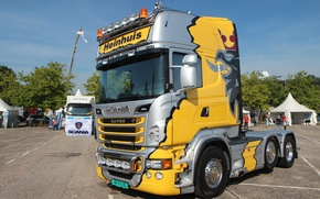 Picture Tuning, Truck, Tuning, Truck, Scania, Tractor, Scania