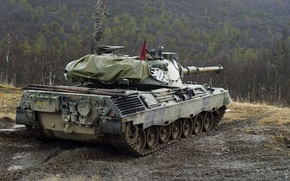 Picture Norway, tank, armor, Leopard 1