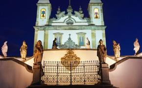 Wallpaper Brazil, Minas Gerais, architect, The Church complex of BOM Jesus do Congonhas, Twelve Prophets, Congonhas, ...
