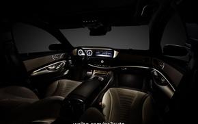 Picture Mercedes-Benz, interior, S-Class