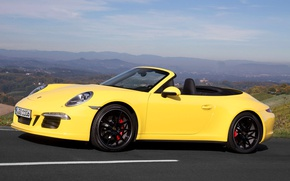 Picture 911, Porsche, convertible