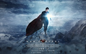 Picture superman, Clark Kent, Man of Steel, Henry Cavill, superman 2013