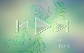 Picture Wallpaper, music, abstract, wallpaper, player, music player
