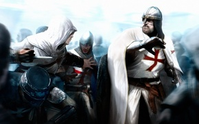 Picture Assassins creed, HELMET, MAIL, FIGHT