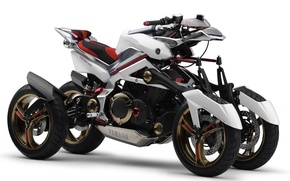 Picture motorcycle, prototype, Yamaha