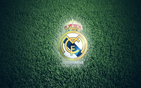 Picture grass, Real Madrid, FC club