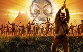 Picture Pyramid, Harrison Ford, Indiana Jones and the Kingdom of the crystal skull