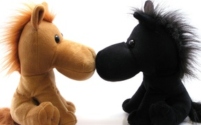 Picture toys, humor, horse
