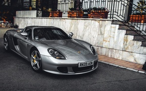 Wallpaper luxury, speed, exotic, supercar, Porsche Carrera GT, sports car