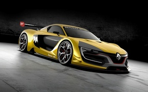 Picture concept, supercar, Reno, Renault Sport, RS 01