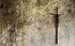 Picture background, wall, cross