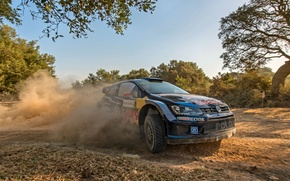Picture Dust, Volkswagen, WRC, Rally, Rally, Polo
