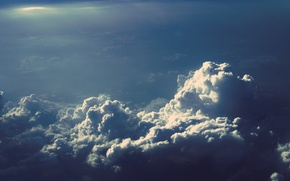 Picture sky, nature, cloud